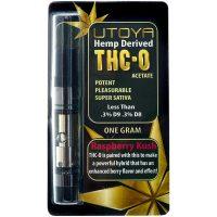 Utoya THC-O Vape Cartridge Raspberry Kush 1g