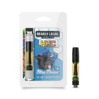 Bearly Legal Hemp HHC Vape Cartridge Blue Dream 1ml