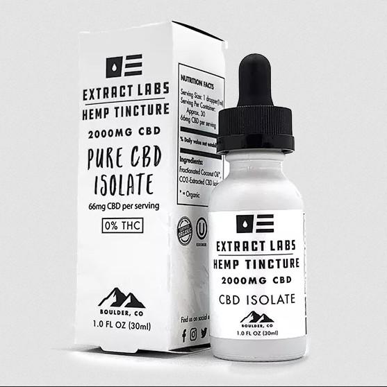 Extract Labs Full Spectrum CBG Tincture 2000mg 30ml