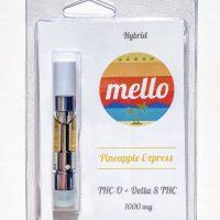 Melo Delta 8 & THC-O Vape Cartridge Pineapple Express 1g