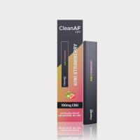 CleanAF Puff CBD Vape Pen Kiwi Strawberry 100mg