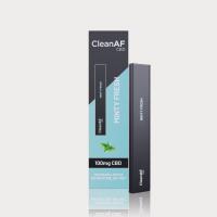 CleanAF Puff CBD Vape Pen Minty Fresh 100mg