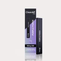 CleanAF Puff CBD Vape Pen Purple Punch 100mg