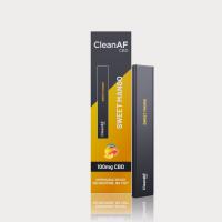 CleanAF Puff CBD Vape Pen Sweet Mango 100mg